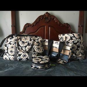 Vera Bradley travel collection in Camellia